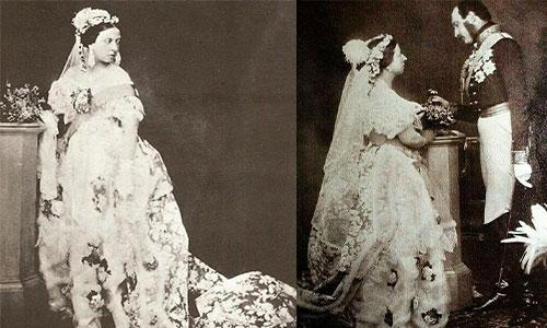 Kraliçe Viktoria'nın Gelinliği